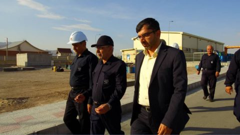 بازدید جناب آقای دکتر پورمند از مجتمع صنعتی تامیدکو