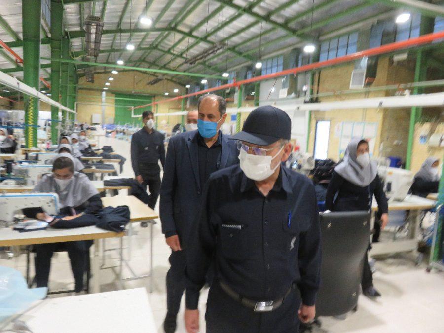 بازدید مدیر عامل میدکو جناب آقای دکتر پورمند